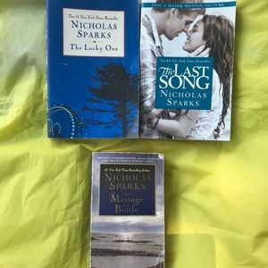 Other - Nicholas Sparks soft cover books